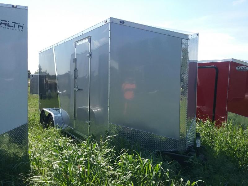 "7X18 (+12"" Extra Height) Stealth Titan Enclosed Cargo Trailer"