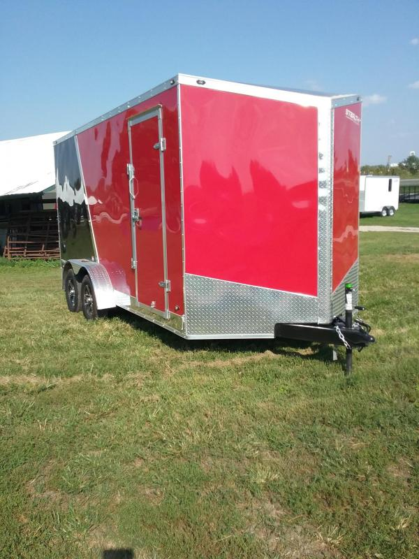 "2019 Stealth Trailers Titan 7x16 ""12 Series Enclosed Cargo Trailer"