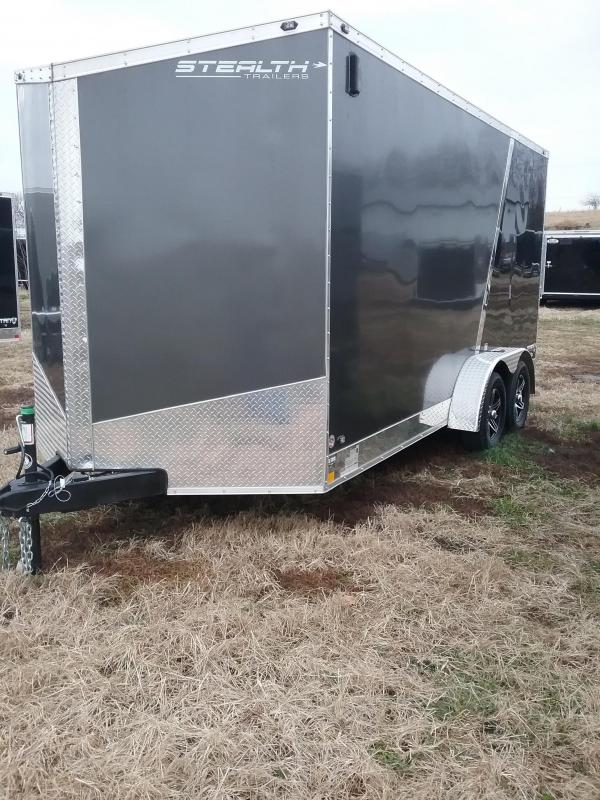 "2019 Stealth Titan (+12"" Additional Height) Enclosed Cargo Trailer"