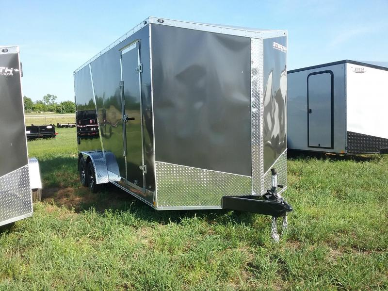 7X18 Plus 12 Inches Stealth Titan Enclosed Cargo Trailer