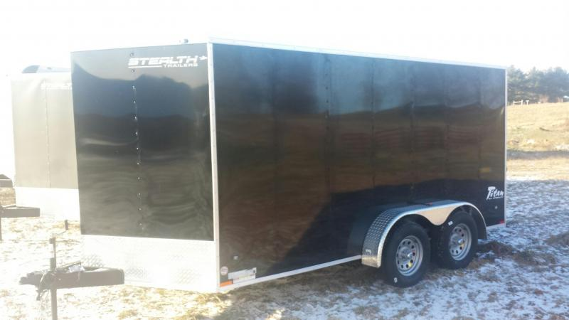 Stealth Trailers 7x14 Titan Enclosed Cargo Trailer