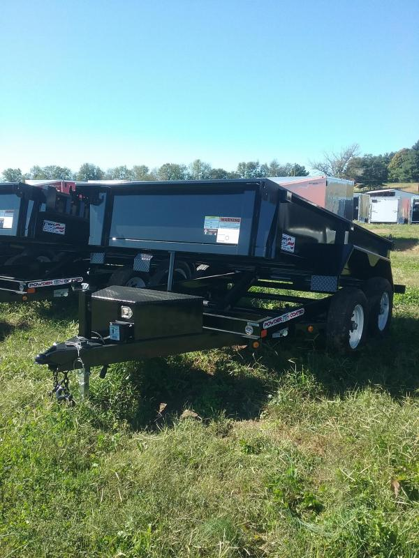 6X10 Liberty Low Pro Dump Trailer