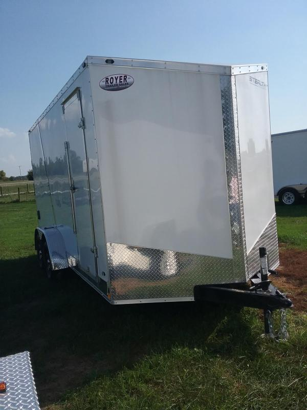 "2019 Stealth Trailers Titan 7x16 ""12 Enclosed Cargo Trailer"