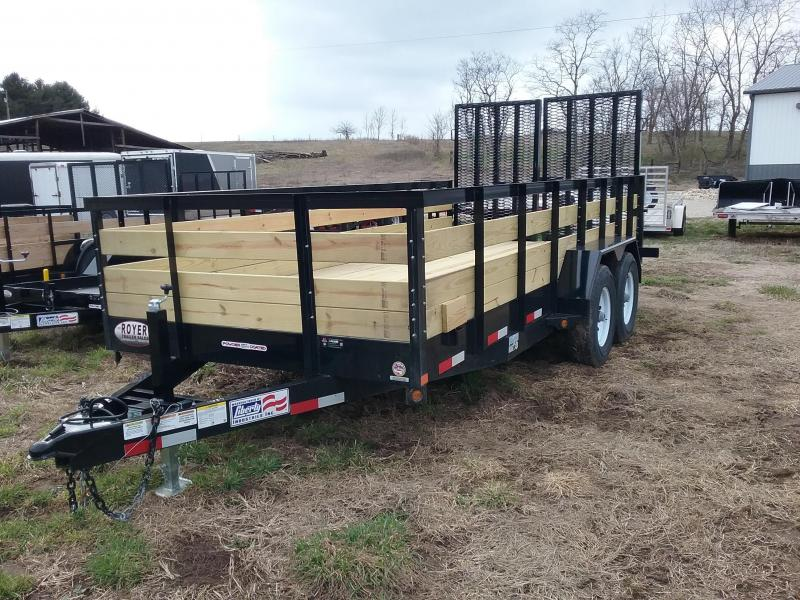 USED 2018 Liberty 82X16 14K Equipment Trailer