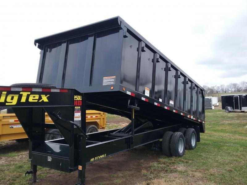 25K 20' Big Tex Dump Trailer