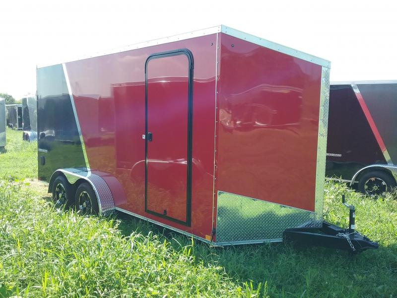 "7X16 (+6"" Extra Height) Impact Shockwave Enclosed Cargo Trailer"