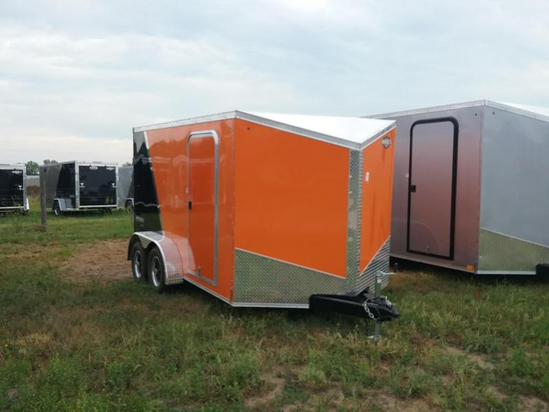 7X12 Impact Tremor Enclosed Cargo Trailer