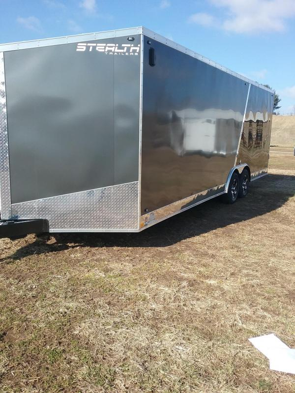 "2019 Stealth Titan 8.5x24 (+6"" Additional Height)  Enclosed Cargo Trailer"