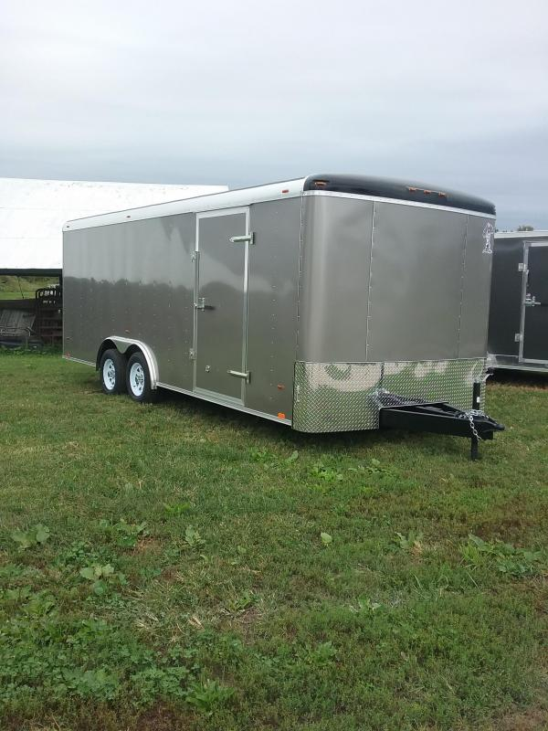 2019 Atlas Specialty Trailers Utility 8x20 Enclosed Cargo Trailer