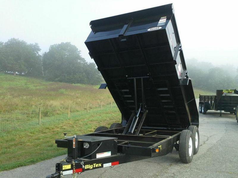 NEW Big Tex Trailers 10LX 83x12 10K Dump Trailer