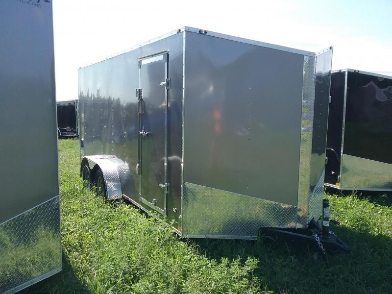 "7X16 (+6"" Extra Height) Stealth Mustang Enclosed Cargo Trailer"