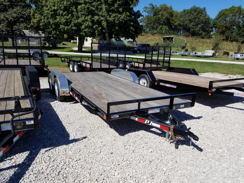 NEW PJ Trailers 18 CARHAULER Car / Racing Trailer