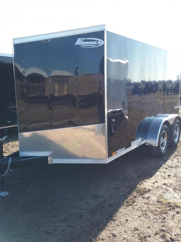 2019 Formula Conquest 7x12 Enclosed Cargo Trailer