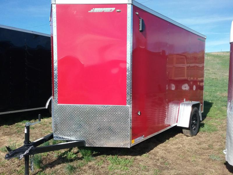 2018 MVM7 6x12 Enclosed Enclosed Cargo Trailer
