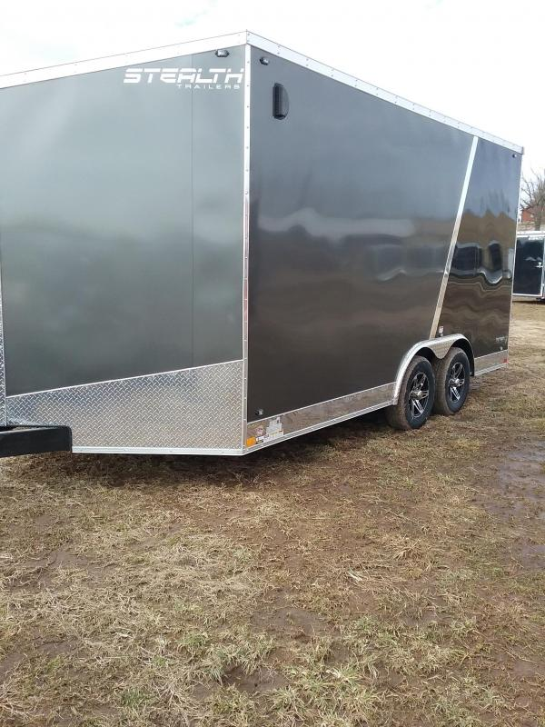 "2019 Stealth Titan 8.5x16 (+12"" Additional Height) Enclosed Cargo Trailer"