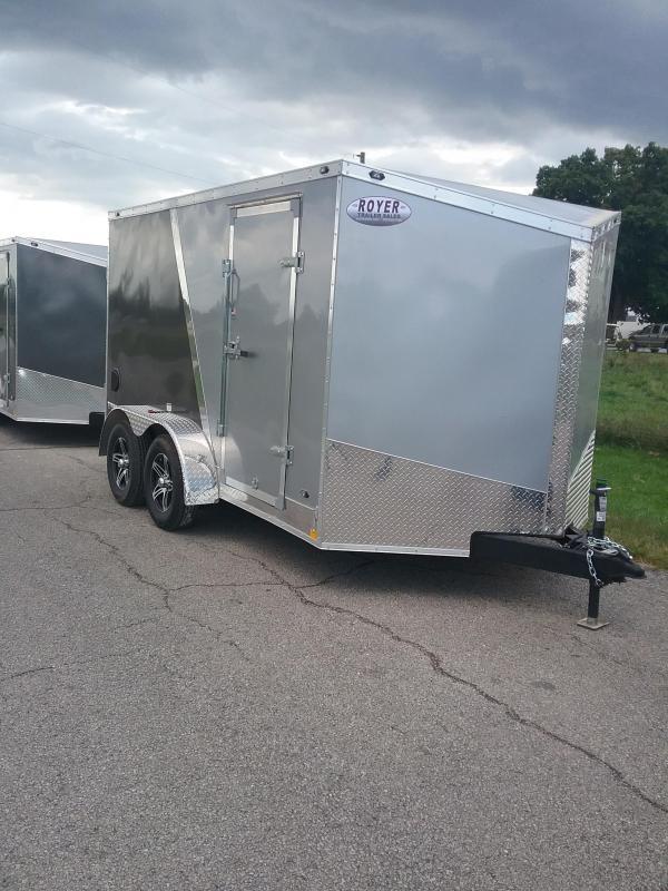 2019 Stealth Trailers Titan 7x12 Enclosed Cargo Trailer