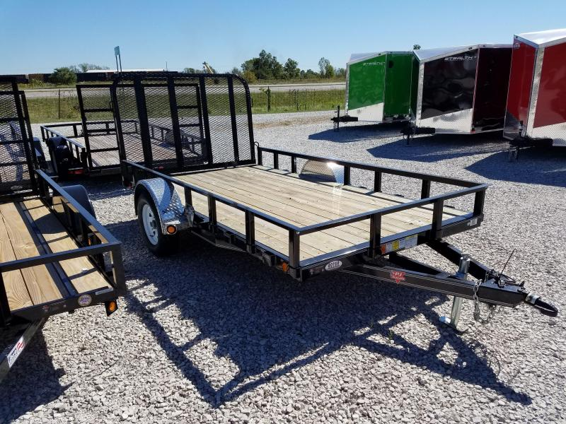 NEW PJ Trailers 77IN CHANNEL UTILITY Utility Trailer