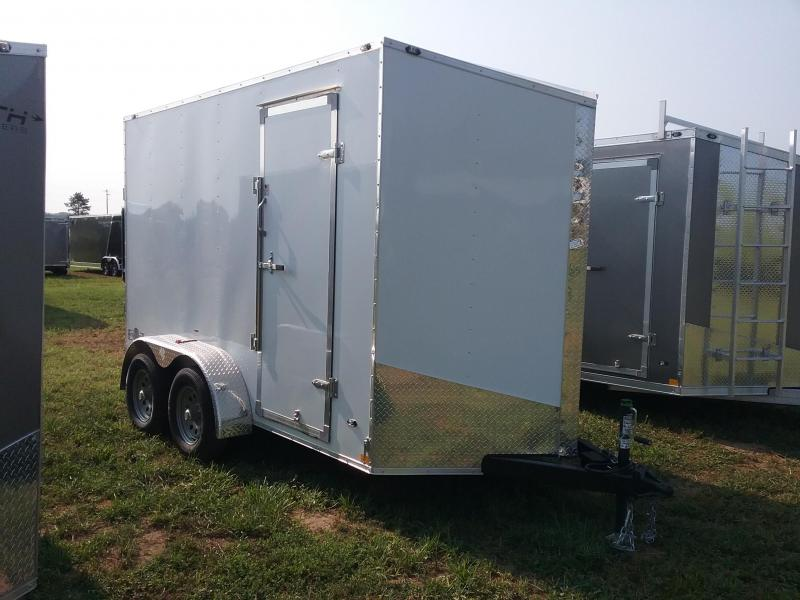 "6X12 (+12"" Extra Height) Stealth Mustang Enclosed Cargo Trailer"