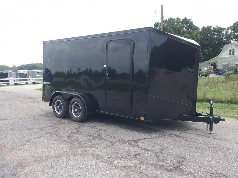 2019 Impact Trailers Tremor 7X14 Blackout Enclosed Cargo Trailer