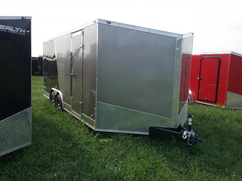 8.5X18 Stealth Titan Enclosed Cargo Trailer