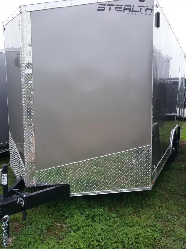 "8.5x16 (+12"" Additional Height) Stealth Titan Enclosed Trailer *HAIL DAMAGED-CALL FOR DISCOUNT PRICING*"