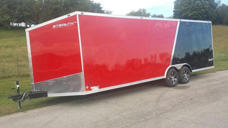 Stealth VIPER 8.5x24 Enclosed Car Hauler