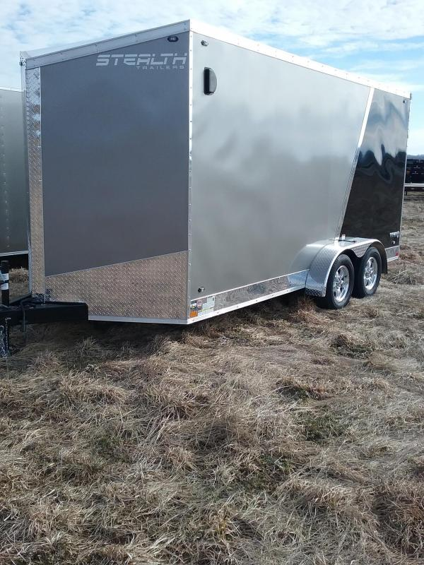 "2019 Stealth Titan 7x16 (+12"" Additional Height) Enclosed Cargo Trailer"