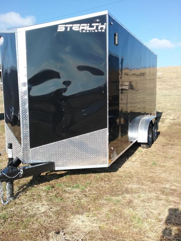 2019 Stealth Trailers Mustang 7x16 Enclosed Cargo Trailer