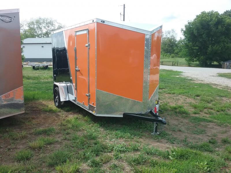 6x12 Plus 6 Inches Stealth Titan Enclosed Cargo Trailer