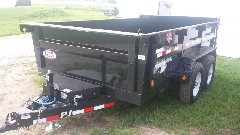 NEW PJ Trailers 12 TANDEM AXLE Dump Trailer