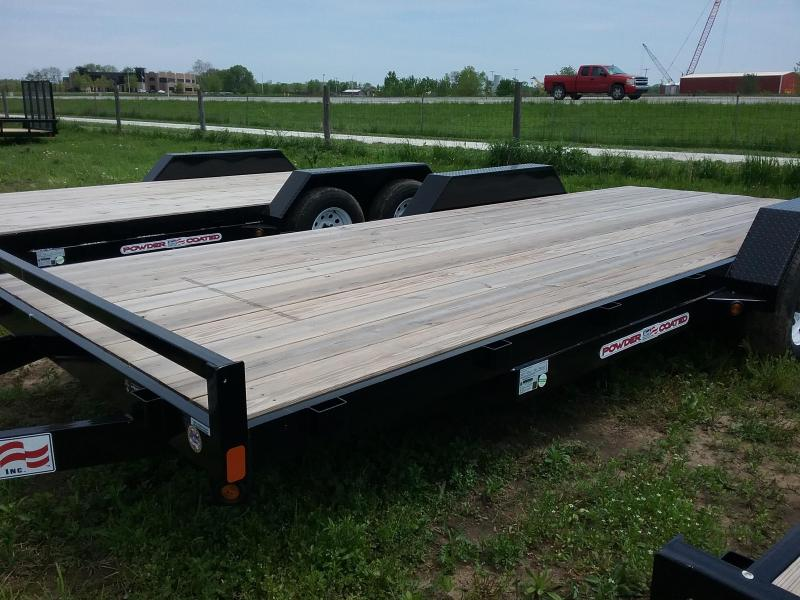 "82""x20' Liberty 10K Car Hauler with Dovetail and 5' Slide in Ramps"