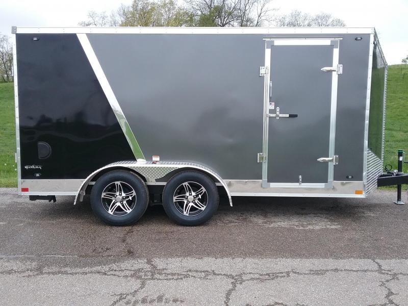 7x14 Stealth Titan Motorcycle Trailer