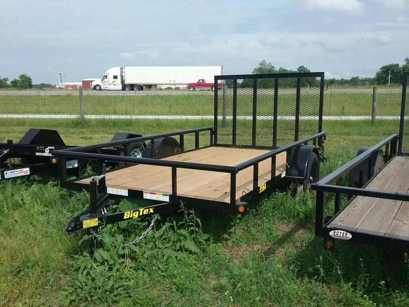 12 Foot Big Tex Utility Trailer