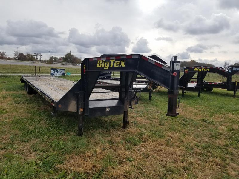 Big Tex Trailers 22GN 35+5 Gooseneck Flatbed Trailer