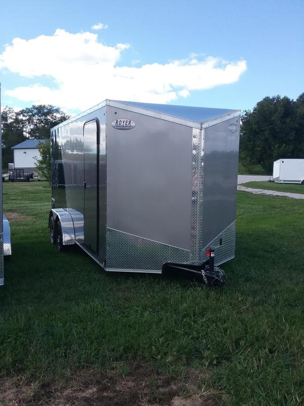 "2019 Impact Trailers Shockwave 7x16""12 Trailer Enclosed Cargo Trailer"