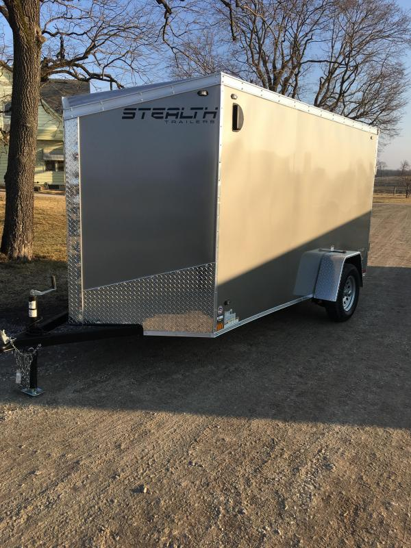 2020 Stealth 6X12 Titan Enclosed Cargo Trailer