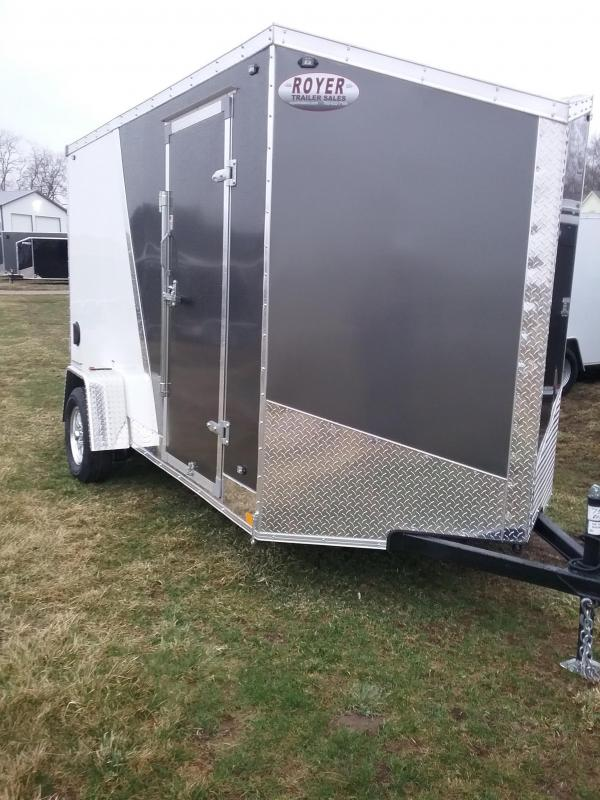 "6x12 (+6"" Additional Height) Stealth Titan Enclosed Cargo Trailer*HAIL DAMAGED-CALL FOR DISCOUNT PRICING*"