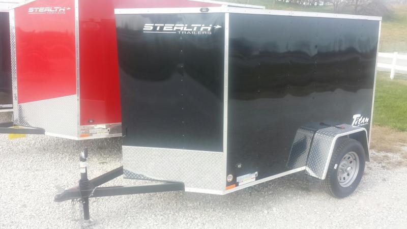 2016 Stealth Trailers 5x8 Titan Enclosed Cargo Trailer