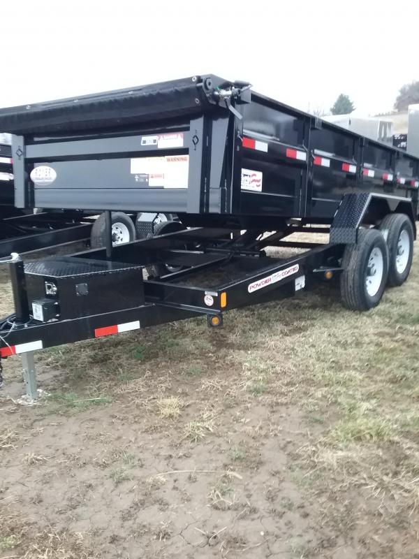 2019 Liberty 14K 83x14 Low Pro Dump Trailer