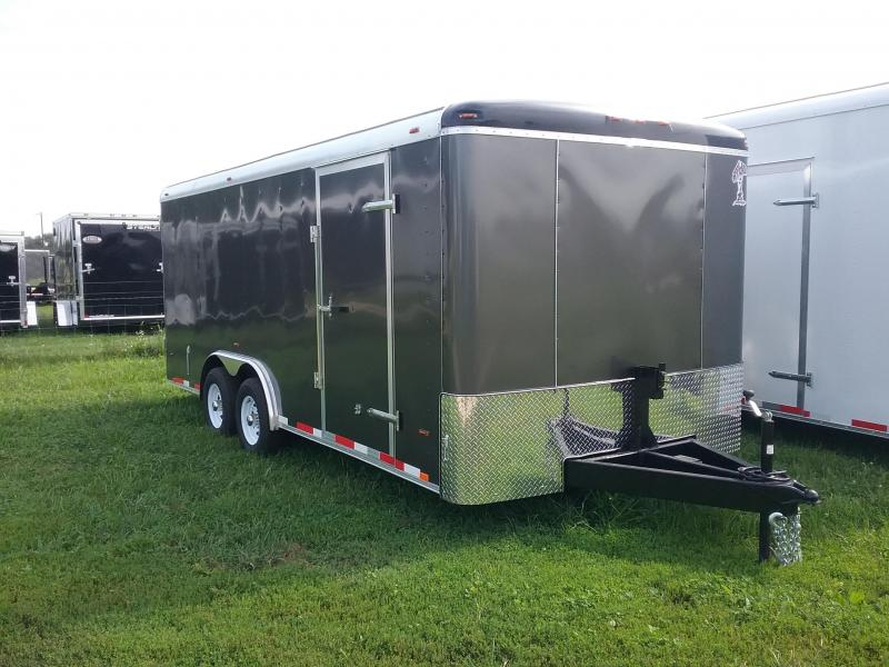 8X18 Atlas Enclosed Cargo Trailer