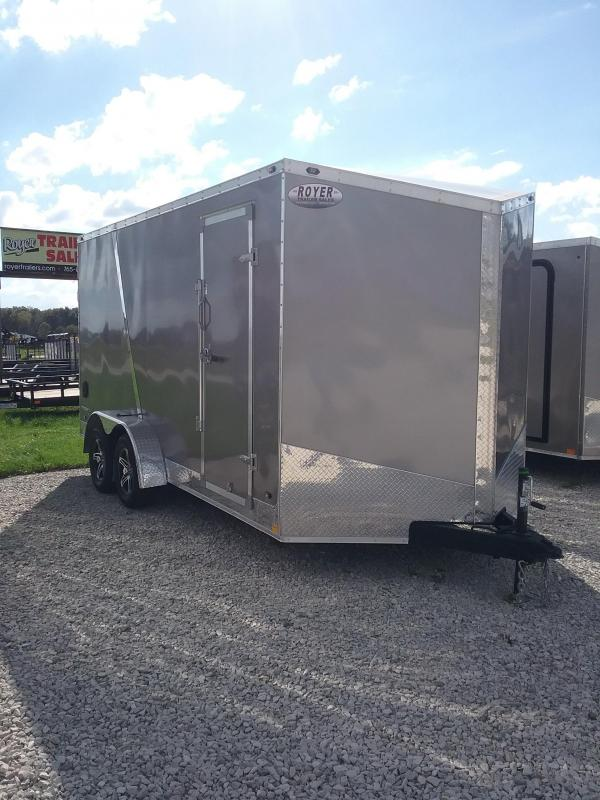 "2019 Stealth Trailers Titan 7x16 ""12 Enclosed Cargo Trailer"