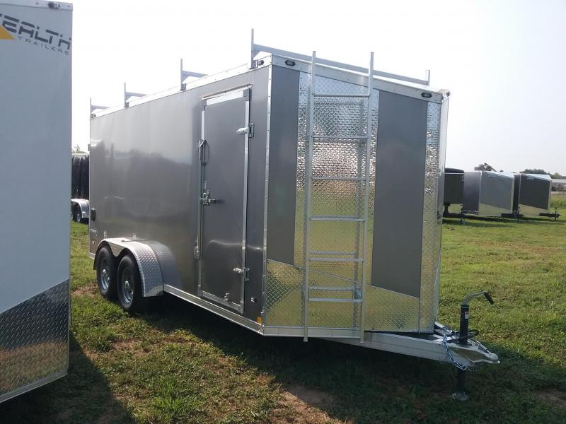 "7X16 (+6"" Extra Height) Stealth Titan Enclosed Cargo Trailer"