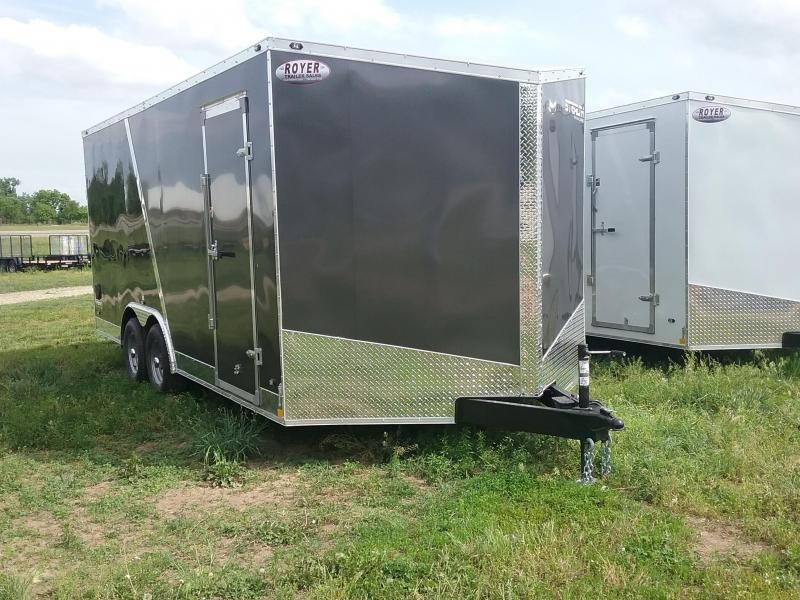 8.5X18 Plus 6 Inches Stealth Titan Enclosed Cargo Trailer