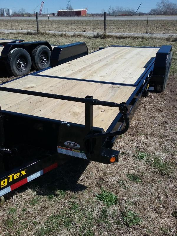 2019 BIG TEX 22' TILT TRAILER