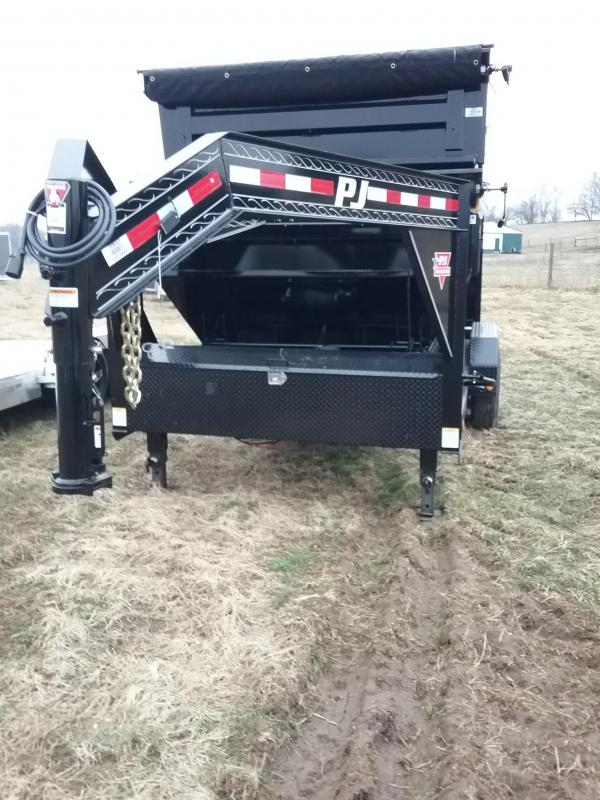 2019 PJ Trailers 14' Roll Off Dump Trailer