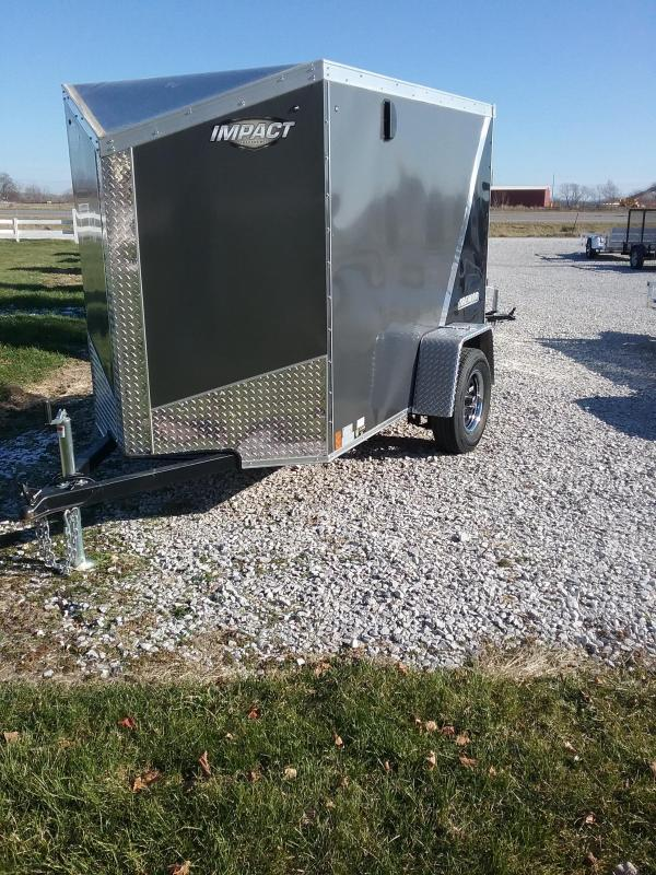 "2019 Impact 5x8 (+6"" Additional Height) Tremor Enclosed Cargo Trailer"