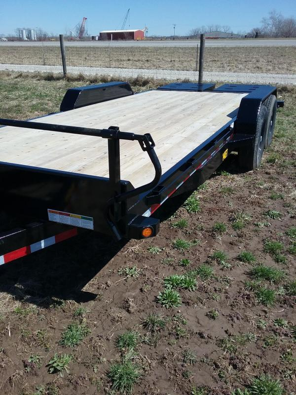 20' Big Tex Equipment Trailer with Mega Ramps