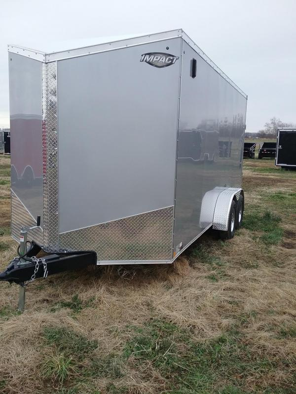 "2019 Impact 7x16 (+12"" Additional Height) Tremor Enclosed Cargo Trailer"