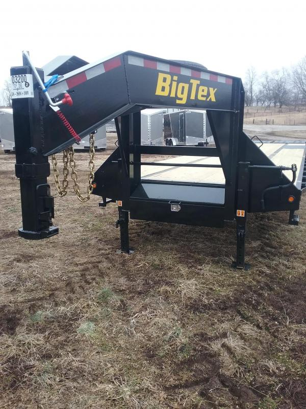2019 Big Tex 22GN 35 5MR Equipment Trailer