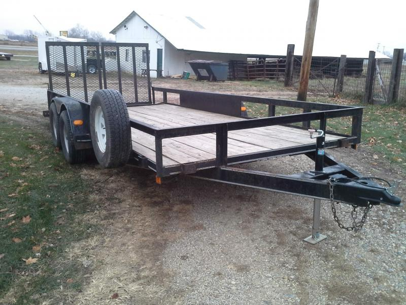 Used 18' H&H Utility Trailer
